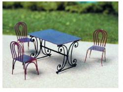 Table et chaises N