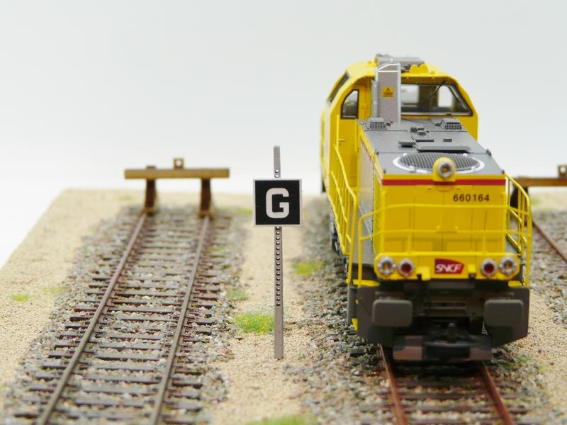 Panneau «G» voie de service