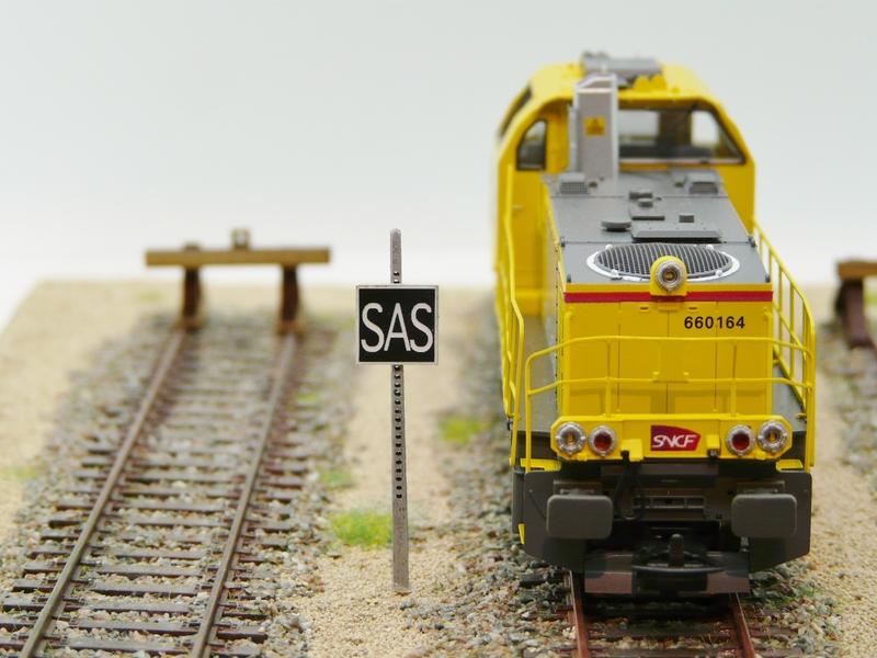 Panneau «SAS» voie de sas