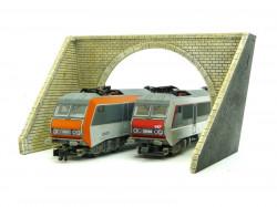 Entrée de tunnel - 2 voies - N