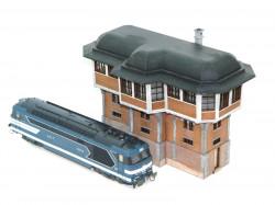 Gares et postes d'aiguillages