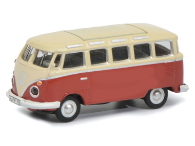 Volkswagen T1 Samba rouge-blanc
