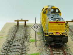 Panneau TIV à distance « 40 km / h »