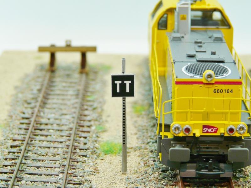 Panneau «TT» Tête de Train