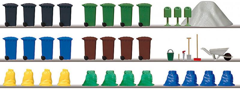 Poubelles et sacs d'ordures