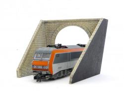 Entrée de tunnel - 1 voie - N