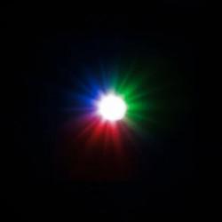 5 LEDs Clignotantes RVB