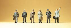 Hommes d'affaire en costume