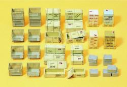 Palettes et caisses