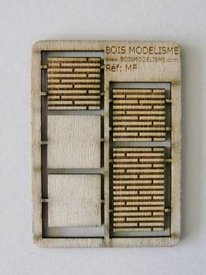Plancher de voie - 10 mm