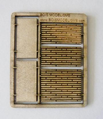 Plancher Voie - 20 mm