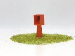 Téléphone «béton» de passage à niveau
