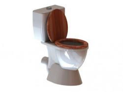 Lot de deux WC