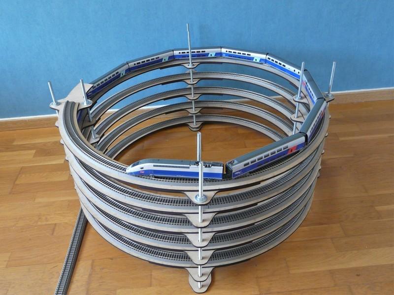 Rampe hélicoïdale sur mesure