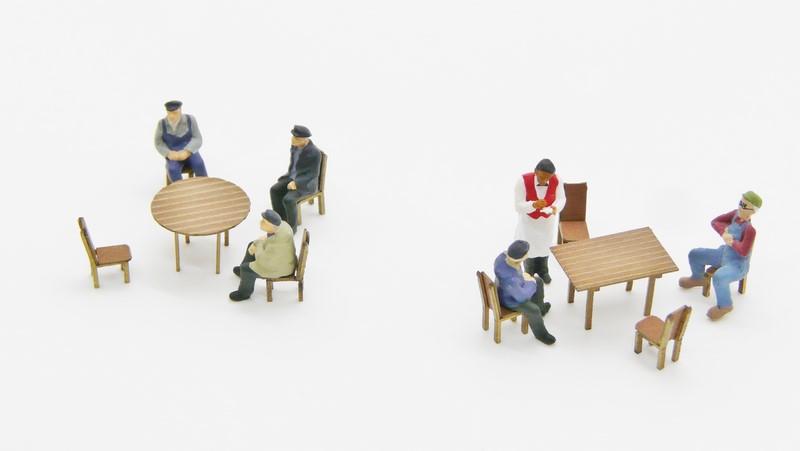 Lot de 2 tables